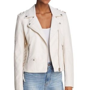 NWT! Blanknyc Lace-Up Faux Leather Moto Jacket